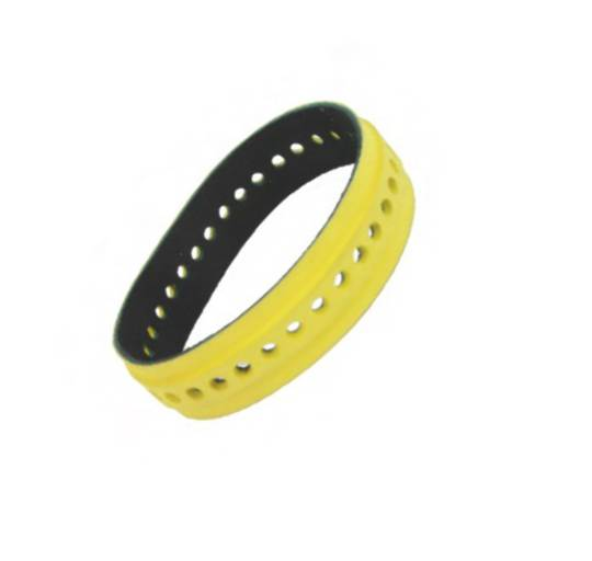 Slow Down Belt 9mm Yellow Raised