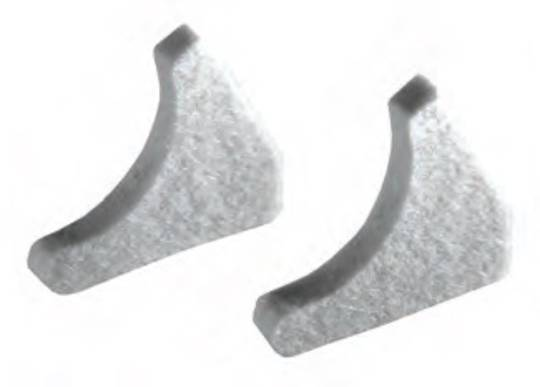 Ink Duct End Block for KOMPAC II Cleaning Seals