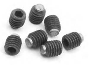 Brass Tipped Grub Screw M8 x 6mm