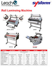 Roll Paper Laminating Machine